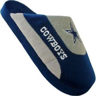 Dallas Cowboys Mens NFL House Shoes Slippers