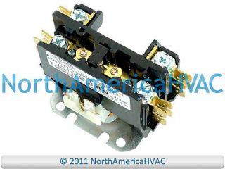 central heat ac contactor relay 24 volt coil 2 pole. Black Bedroom Furniture Sets. Home Design Ideas