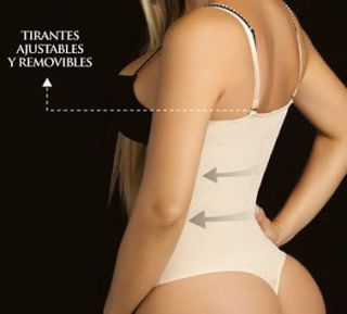 Thong Body Shaper, Fajas Colombianas, Smart Powernet, Fajas Moldeate