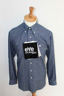JUNYA WATANABE COMME DES GARCONS X BROOKS BROTHERS CHAMBRAY SHIRT NEW