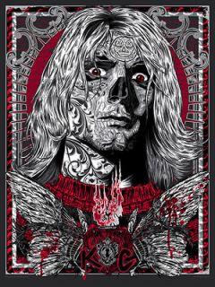 Fallen Spirit Poster Print Nirvana Kurt Cobain GID Dead Rockstars