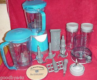 Kitchen System Pulse BL206QBL Blue Blender Food Processor Dough Maker