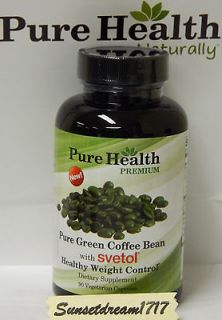 pure health green coffee beans