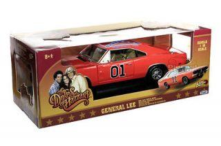 Dukes of Hazzard General Lee Die Cas Car 1/18 Vehicle In Sock