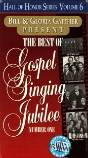 OF GOSPEL SINGING JUBILEE NUMBER ONEGAITHER VIDEO SERIESOOP VHS