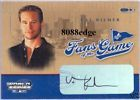 FANS OF THE GAME SIGNED AUTOGRAPH AUTO CARD VAL KILMER   TOP GUN/THE