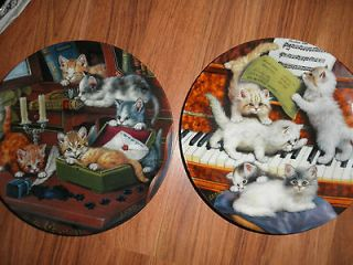 Cat Collector Plates