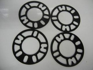 Wheel Spacer adapters 4x100 4X114.3 4lug 4mm universal fit spacer 4x3