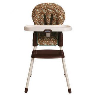 graco simple switch high chair in little hoot brand new free