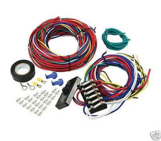 Newly listed DUNE BUGGY wiring harness, SANDRAIL wiring loom kit car