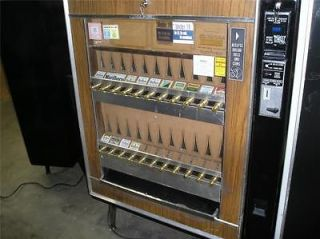 NATIONAL 222 CIGARETTE Vending Machine TAKES .05/.10/.25/$1 s   PRICE