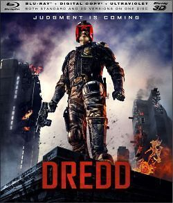 Dredd Blu ray 3D/Blu ray *NEW* Karl Urban, Olivia Thirlby, Jason Cope