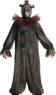 Kids Scary Evil Clown Boys Halloween Party Costume