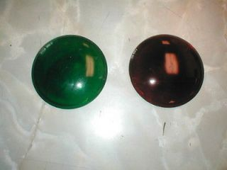 Newly listed Red & Green stop light lenses