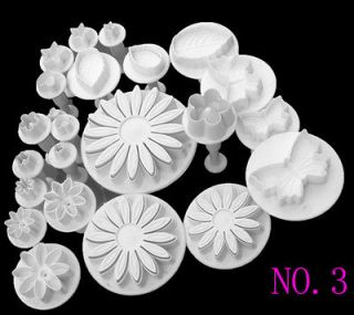 Fondant Cake Cookie Cutter Mold Mould Daisy Plunger Gum Sugarcraft
