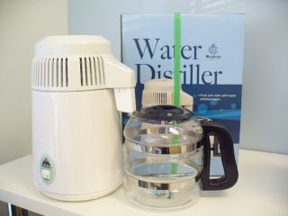MegaHome Water Distiller 230V/240V Model TWS Glass Bottle 2 Yr Warr
