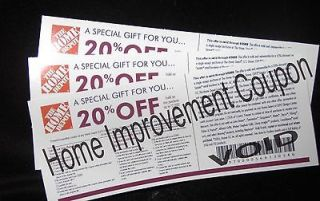 Newly listed 1   HOME DEPOT COUPON 20% OFF UP TO $2000 USE @ LOWES   7
