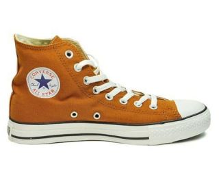 CONVERSE SHOES CHUCK TAYLOR WOMEN SIZE ALL STAR HI TOP 1U689 BURNT