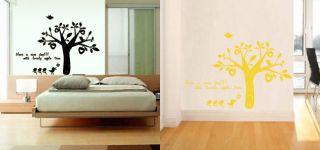 Apple Tree Flower Wall Art Stickers Decal Wallpaper #Plant0061UK