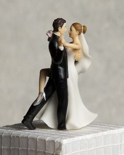 Super Sexy Dancing Funny Bride and Groom Wedding Cake Topper Figurine
