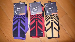 Nike Elite Sock 2.0 Crew USA Olympic Basketball Sequalizer L 8 12