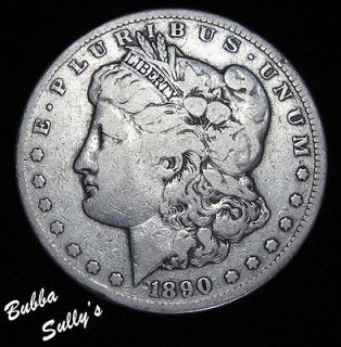 morgan silver dollar cc 1890 in 1885 93
