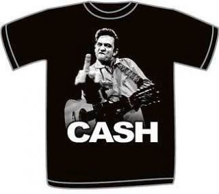Johnny Cash Flippin Finger T Shirt JC1815 Small to XXL