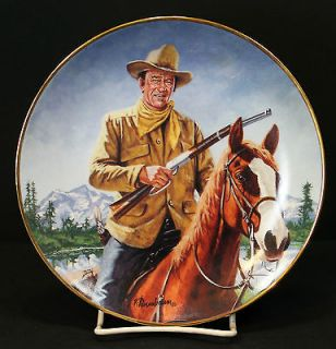 John Wayne high Country Franklin Plate