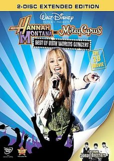 Newly listed Hannah Montana & Miley Cyrus Best of Both Worlds Concert