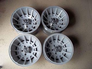 15x8.5 Western Wheels Cyclone Turbine Corvette Camaro Rims Trans Am