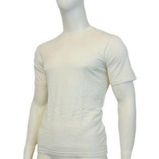 EDZ Merino Wool Base Layer T shirt Mens White 190g