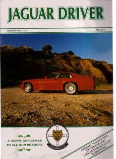 Club magazine 12/95 Story of an SS100, A Daimler Century, MK1 MK2