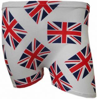 NEW LADIES BRITISH FLAG PRINT HOT PANTS WOMENS UNION JACK FLAG SHORTS