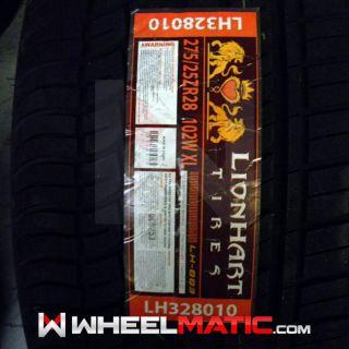 New 275/25R28 Lionhart LH003 Tire 275 25 28 2752528