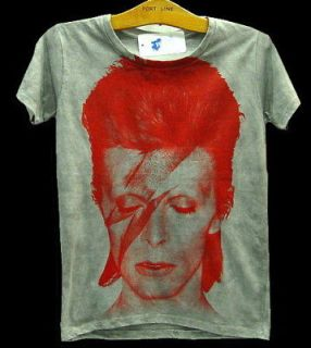 David Bowie ZIGGY STARDUST VTG Punk Rock Tank T Shirt S