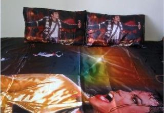 Michael Jackson World Tour Collectible Rare Bedding pair of Pillow