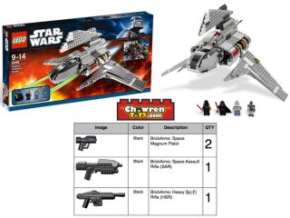 LEGO 8096 Star Wars Emperor Palpatines Shuttle Anakin Vader