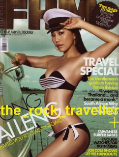 ASIAN GIRLS FHM SINGAPORE EDITION PRE SALE COLLECTION