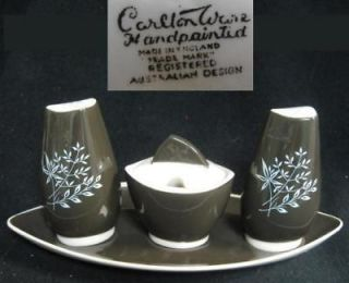 CARLTON WARE c1935 61 AUSTRALIAN DESIGN Condiment Set
