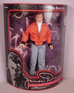 Vintage James Dean 12 vinyl doll Rebel Rouser MIB Celebrity Movie