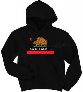 Hoodie Sweater Cali HUF 420 California Republic HBO David Duchovny