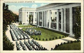 Staunton VA Military Academy c1920 Postcard