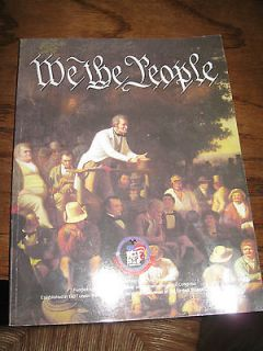 Newly listed American History Education Textbook Homeschool 1988 We