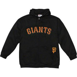 San Francisco Giants Big & Tall No Delay Full Zip Hooded Sweatshirt