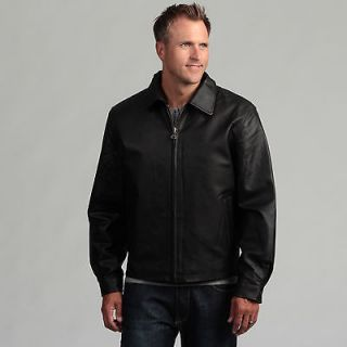 Tanners Avenue Mens James Dean Pig Napa Leather Jacket
