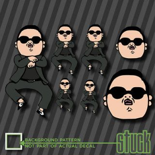 Gangnam Style Party Pack   7 Vinyl Decal Sticker PSY MEME Funny Korea