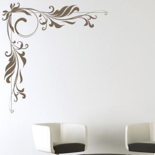 Corner Floral Decorative Wall Stickers Wall Art Decal Transfers