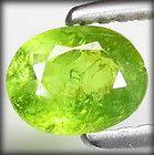 15 CT 100 NATURAL UNHEATED OVAL BRIGHT GREEN DEMANTOID ANDRADITE