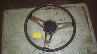 DODGE RIMBLOW STEERING WHEEL CUDA CHALLENGER DART CHARGER ROADRUNNER