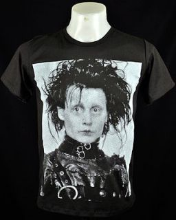 Shirt Edward Scissorhands Johnny Depp Movie Punk Rock Tee Size M